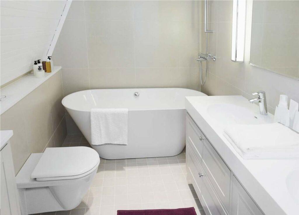 kleines Badezimmer organisieren Regensdorf Furttal