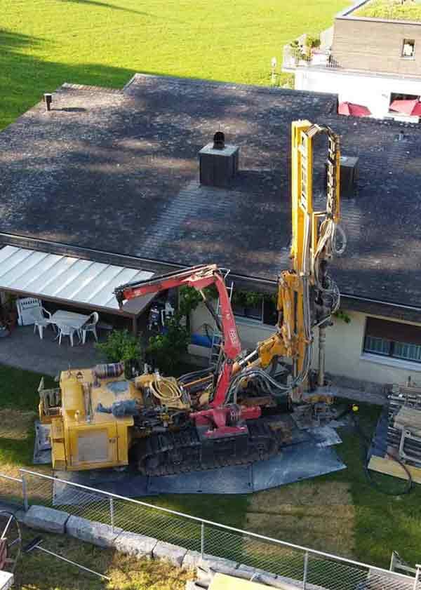 Sanierung Heizungsanlage Einfamilienhaus Regensdorf