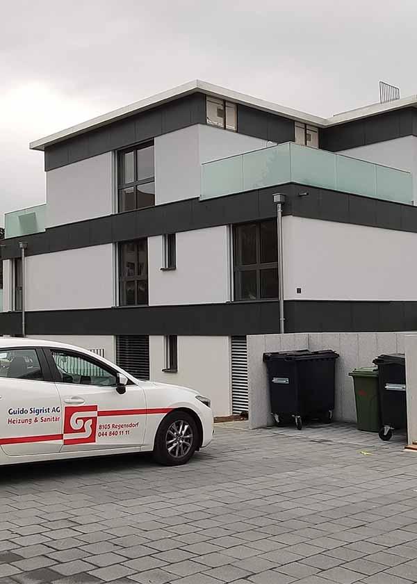 Neubau Mehrfamilienhaus Baltenswil