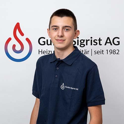 Aid Hodzic Guido Sigrist AG Heizung Sanitär